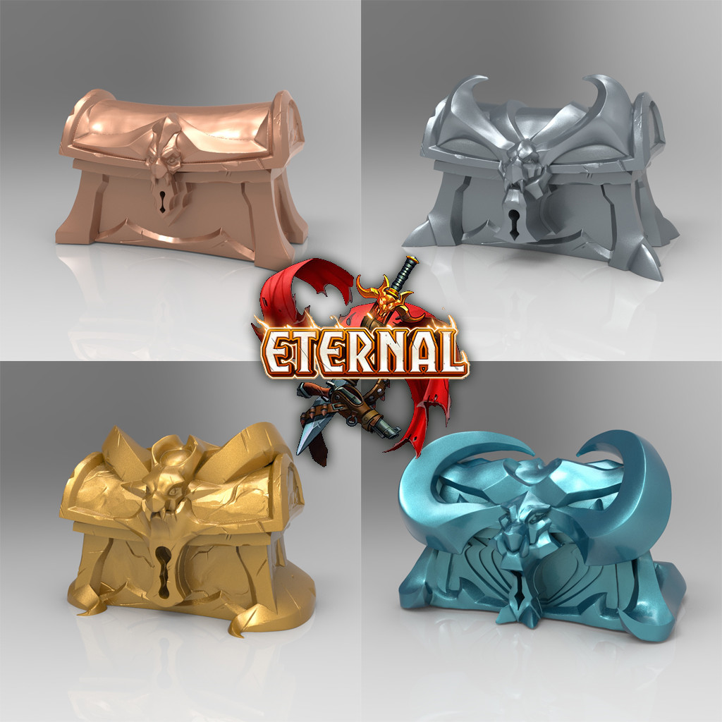 Eternal Reward Sculpts