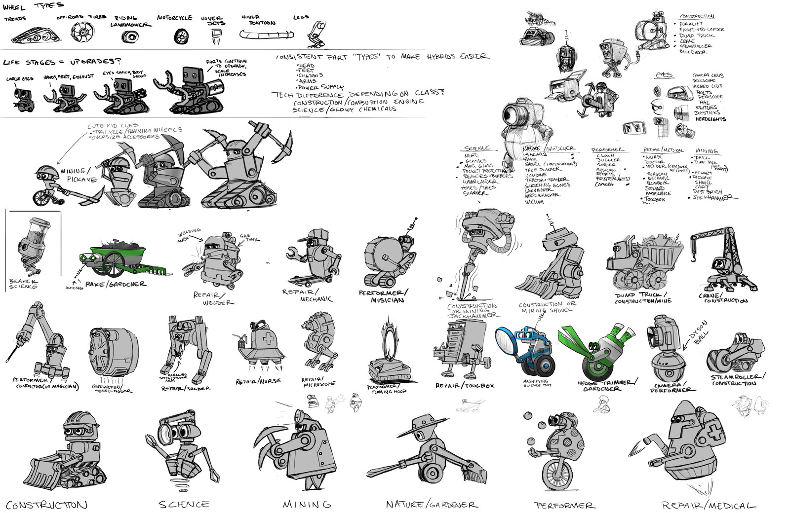Backflip Studios Concepts