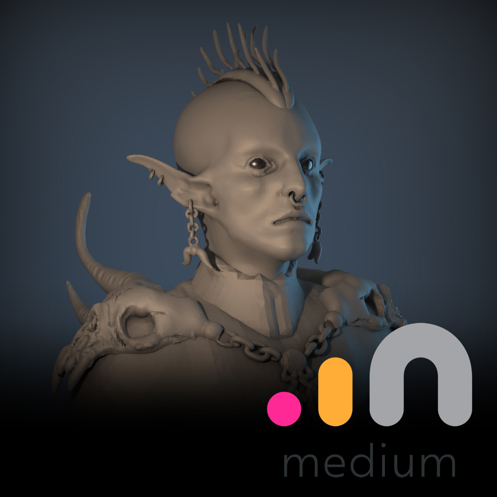 Oculus Medium Elf Dude
