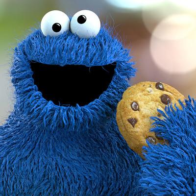 Felipe 3dartist cookie monster artstation
