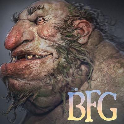 The BFG - Giants Design Work