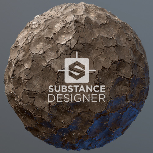 Cracked Mud - Substance Designer