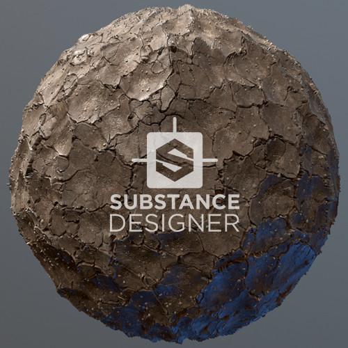 Cracked Mud - Substance Designer