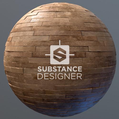 Substance Designer - Old Wood Floor