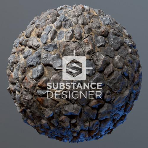 Stone Wall - Substance Designer/Painter