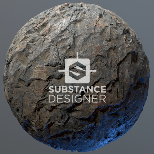Substance Designer - Cliff Face Texture