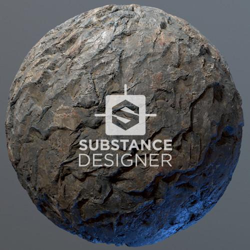 Substance Designer - Cliff Face Texture