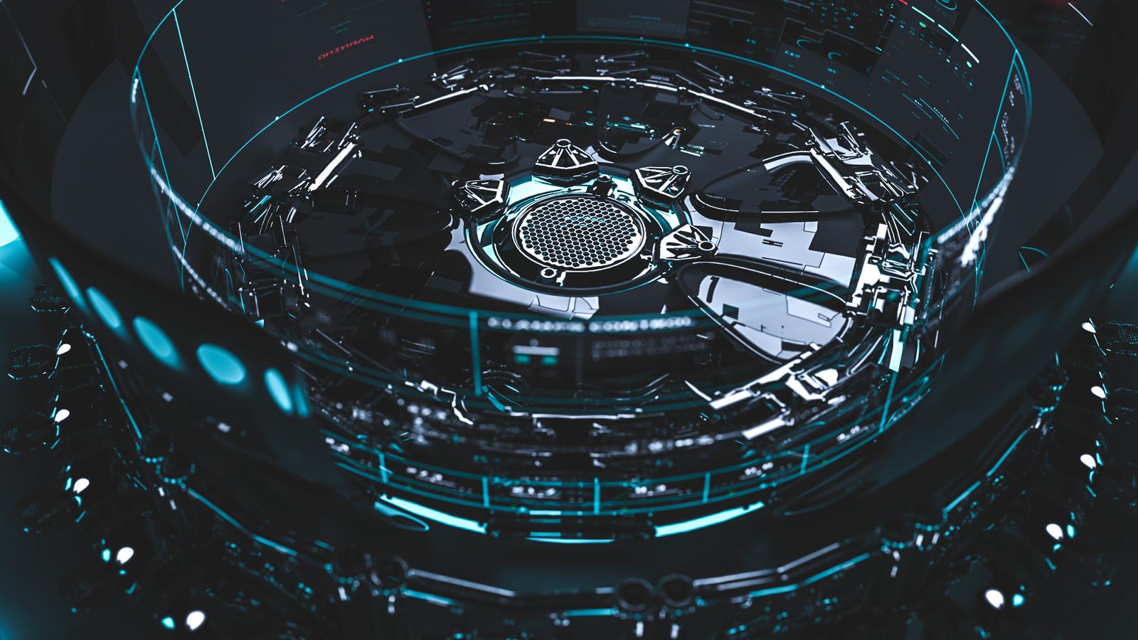 // Portal [RG12_01] Sci fi Concept //
