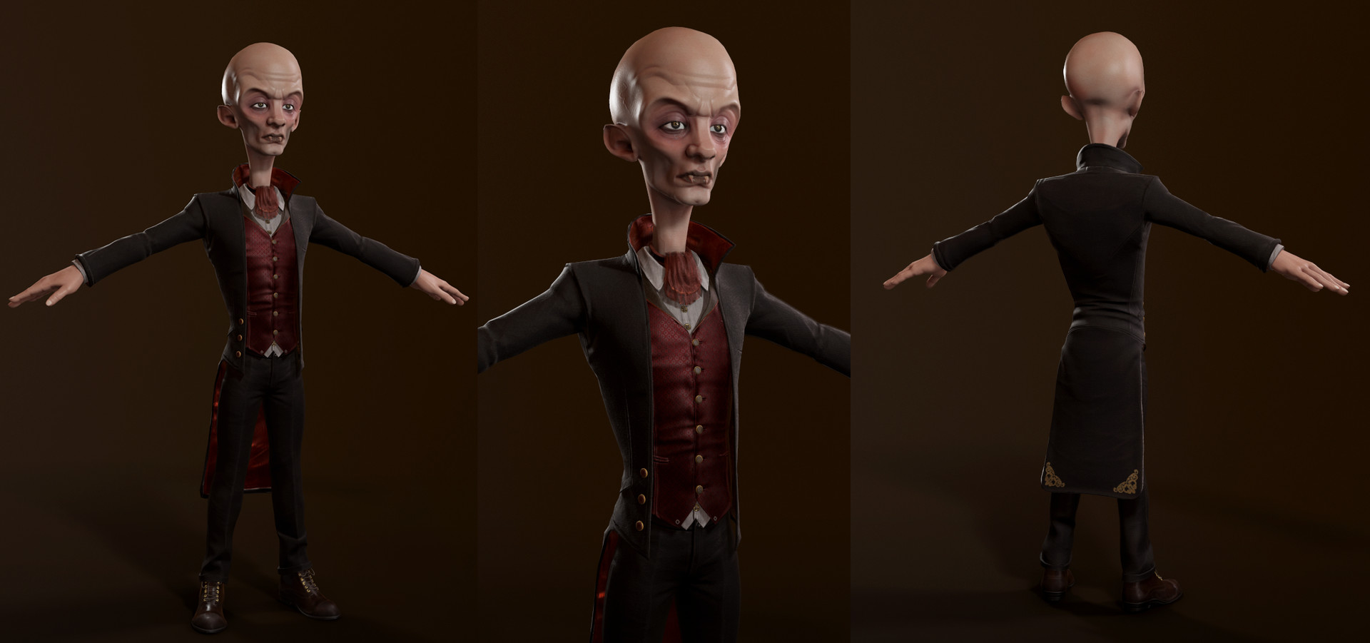 Realtime Cartoon Vampire