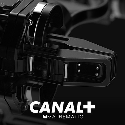 CANAL+ - Decodeur - Lens and Lens appearance system from Clamp Concept Design
