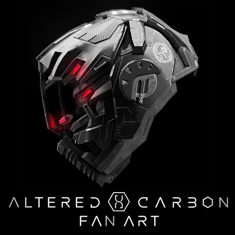 Altered Carbon CTAC Helmet