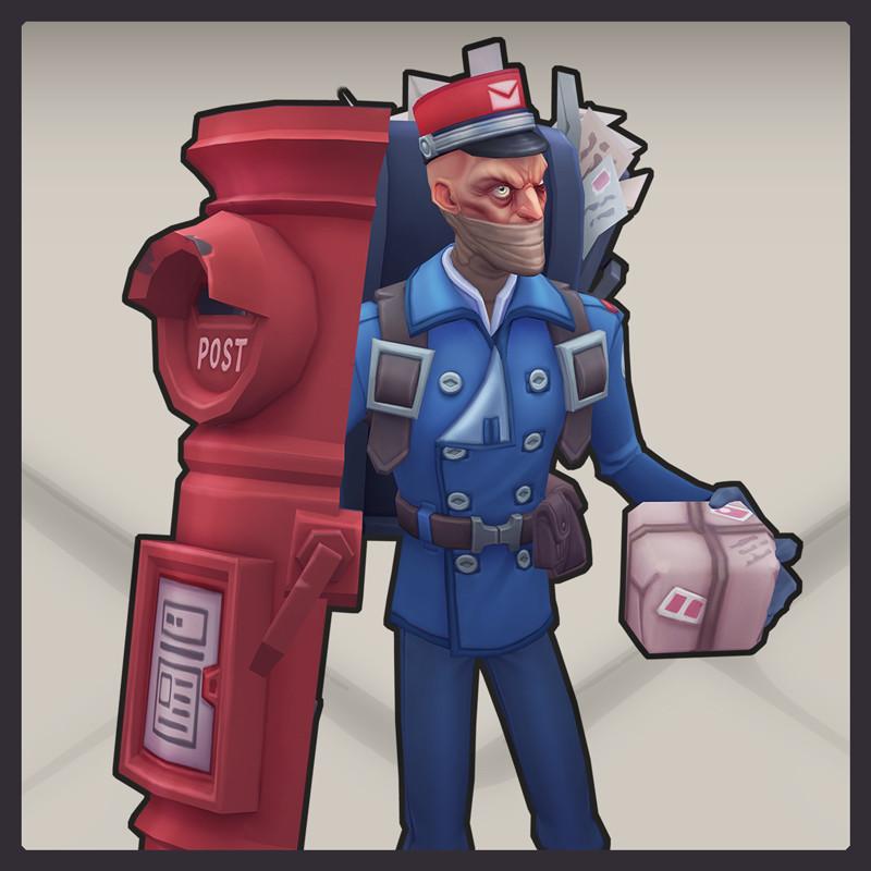 Postman Singed