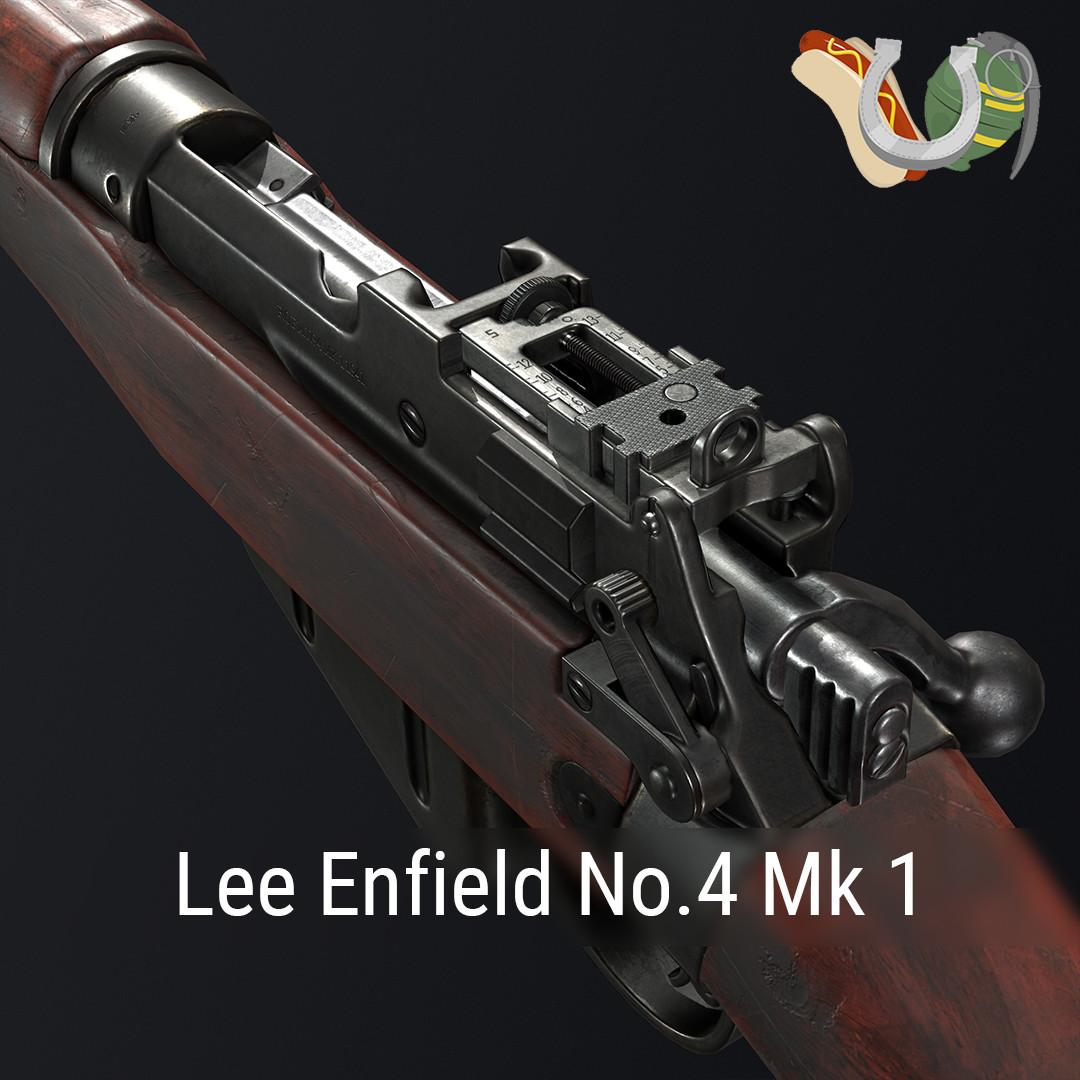 Lee Enfield No.4 Mk 1