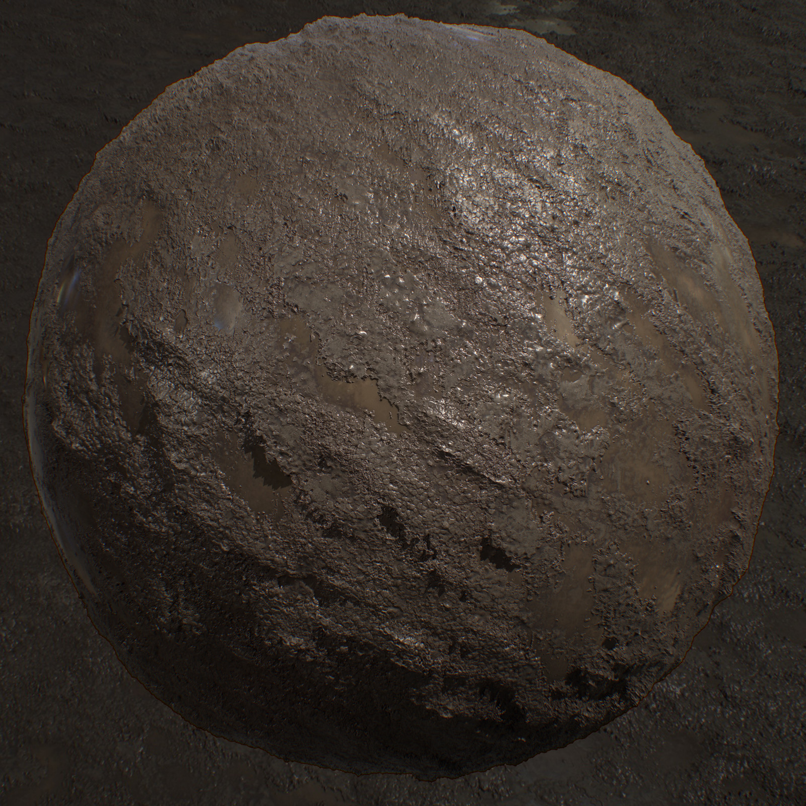 Trench Mud - Substance Designer