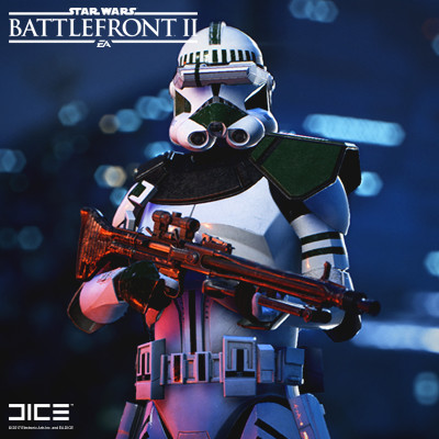 Artstation Star Wars Battlefront 2 Clone Trooper Specialist Class Bjorn Arvidsson