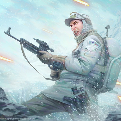 Tony foti star wars imperial assault hoth trooper by anthonyfoti d94gh5o