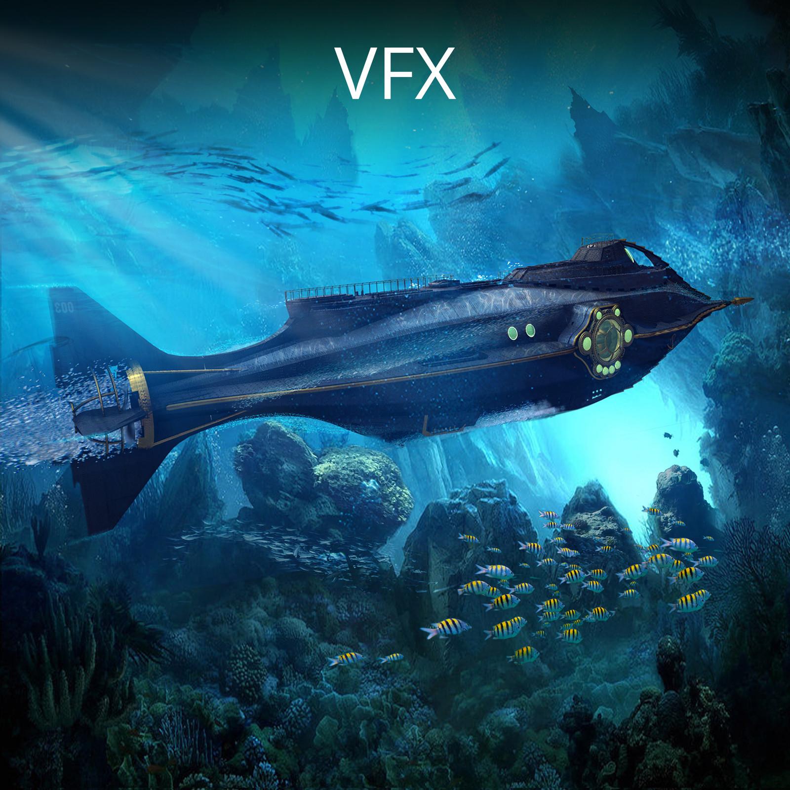 3D VFX Concepts