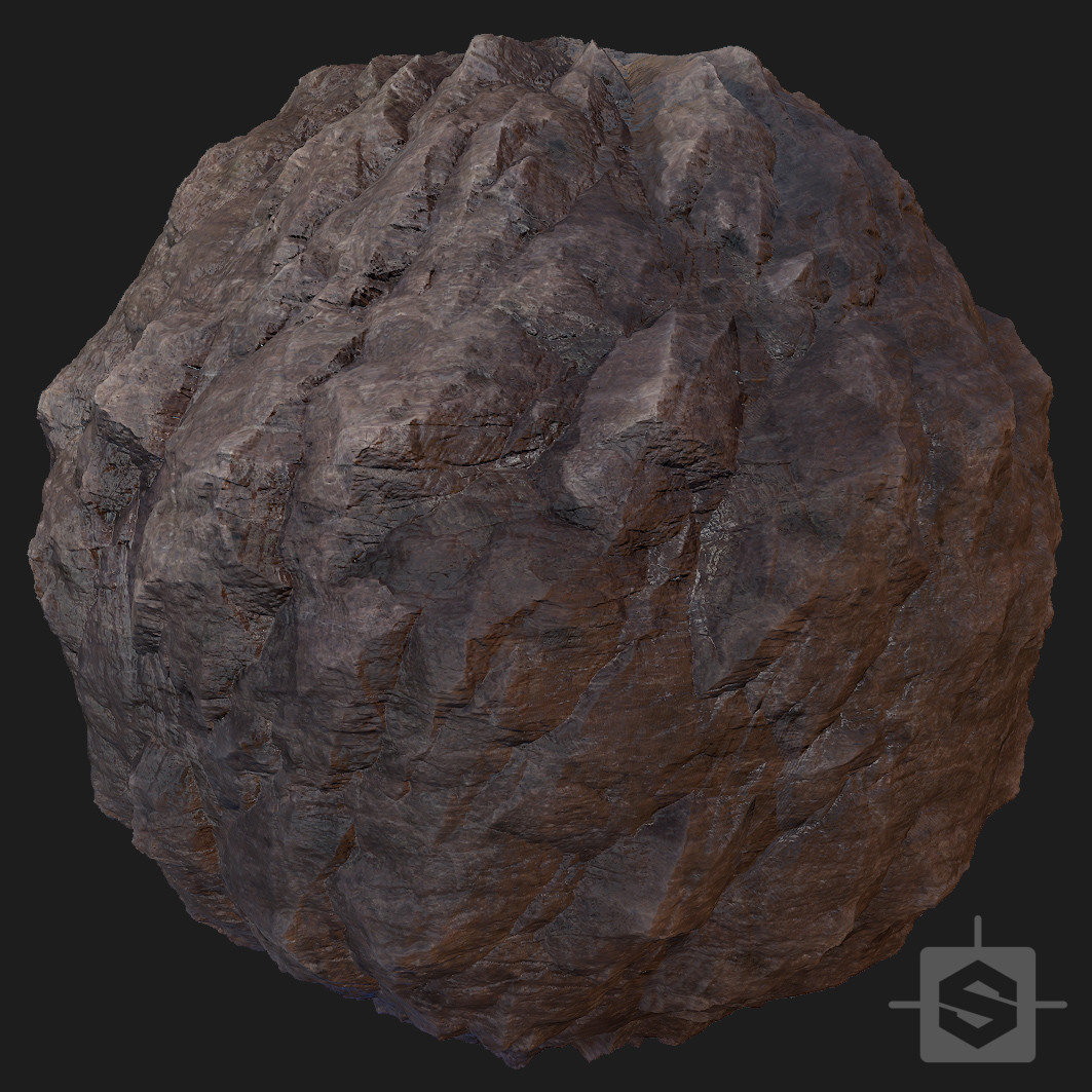 Rock Arena - Procedural Material PBR