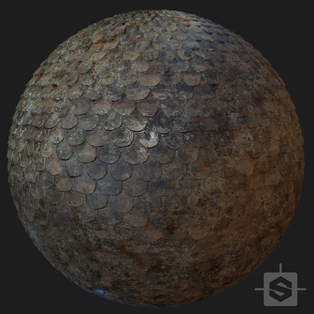 Medieval Roof - Procedural Material PBR