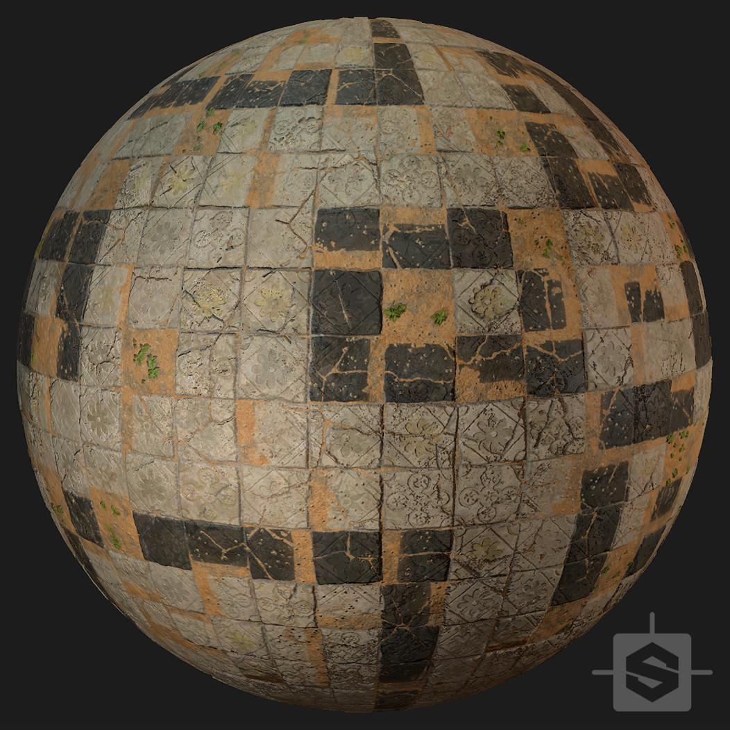 Medieval Floor 02 - Procedural Material PBR