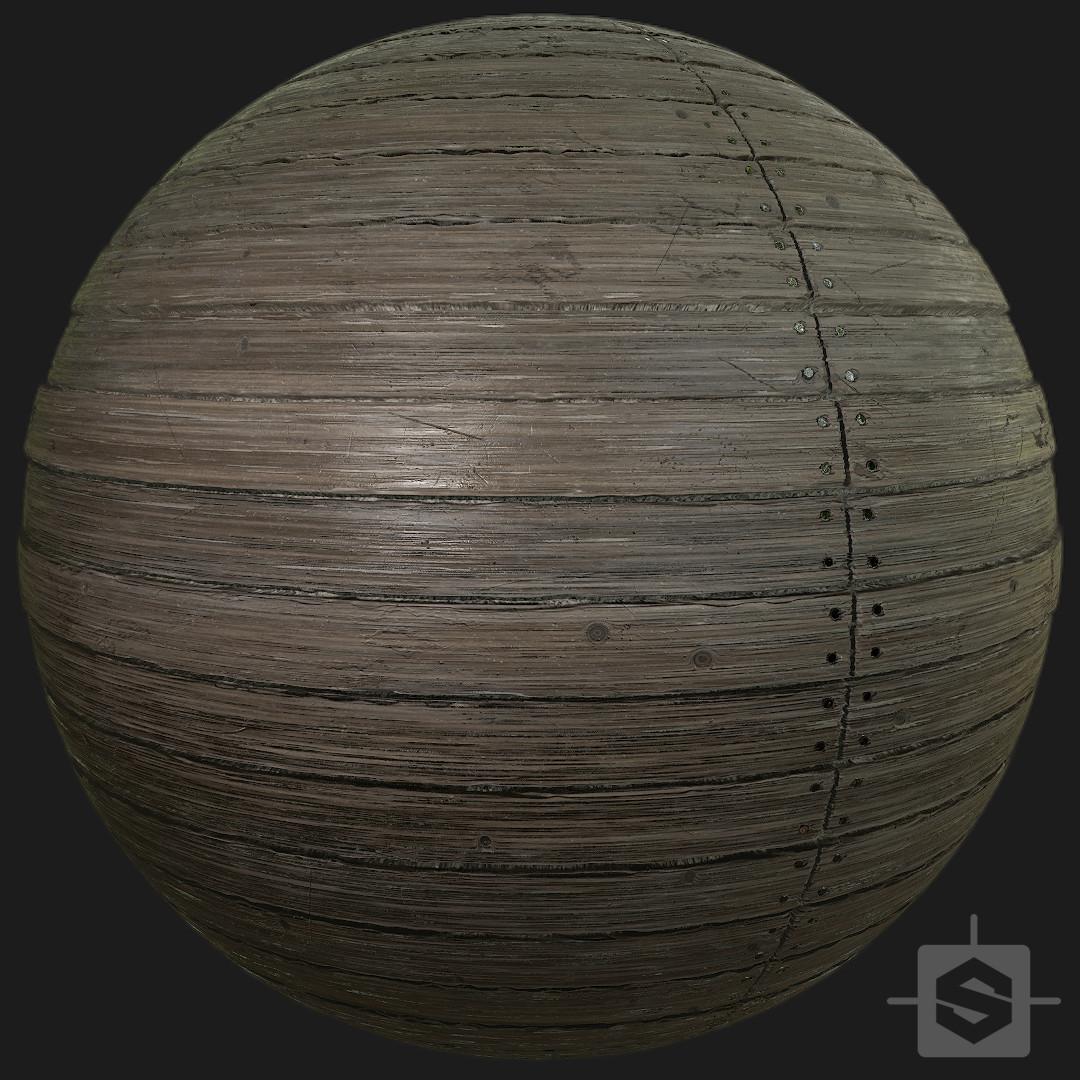 Plank wood - Procedural Material PBR