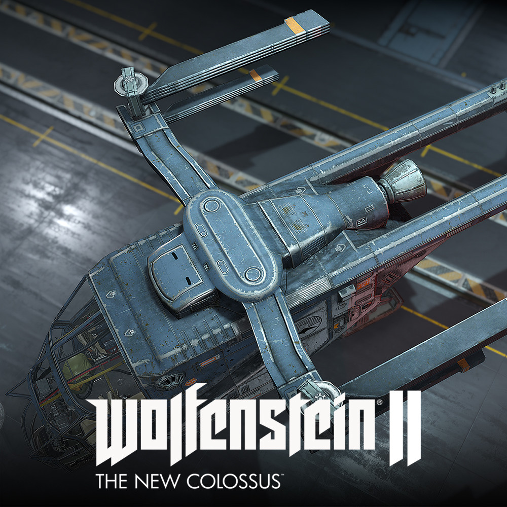 Wolfenstein 2: Stealth Helicopter