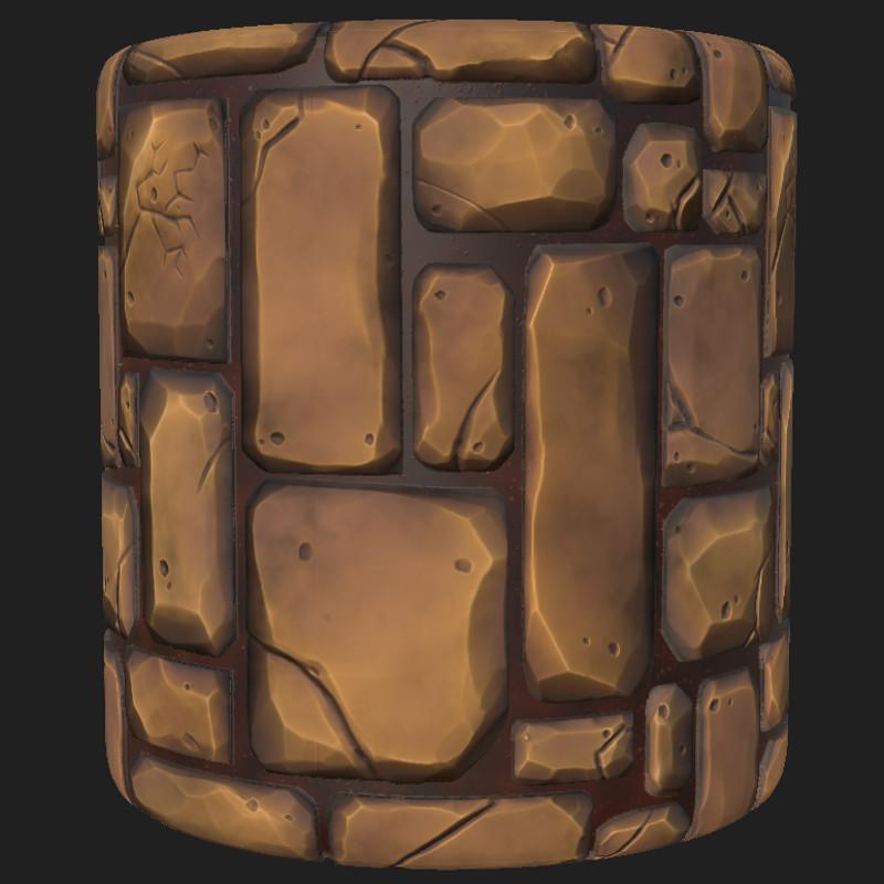 Stylized Brick