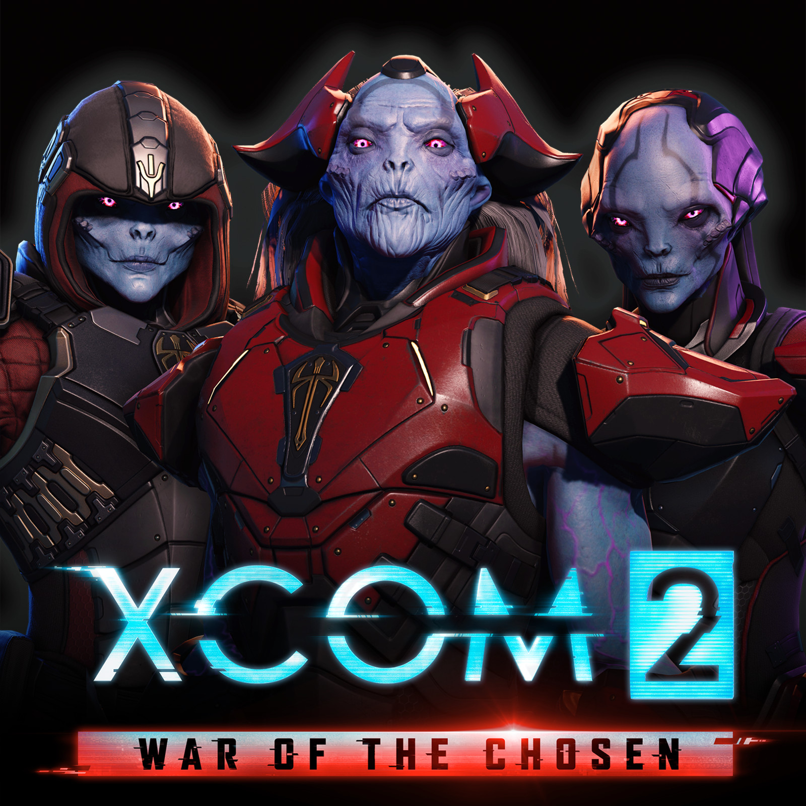 Xcom 2: War of the Chosen - Chosen heads