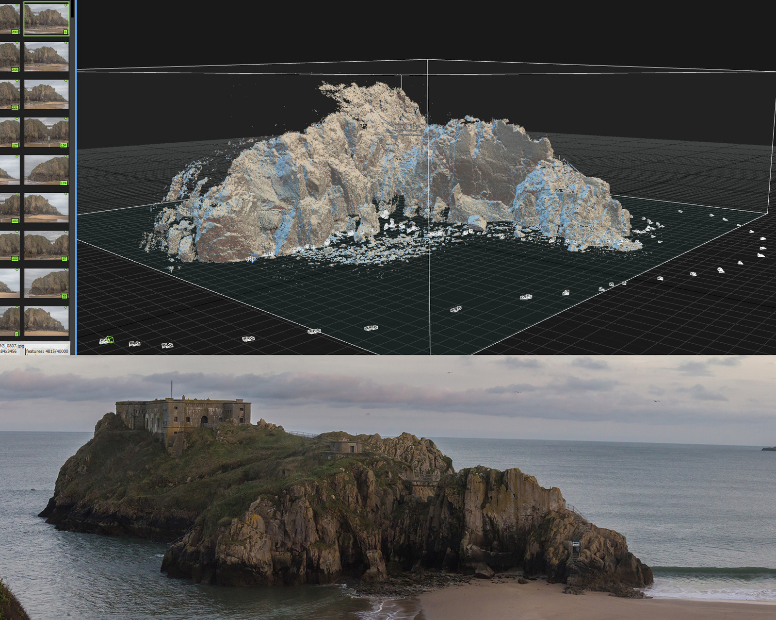 Tenby Photogrammetry 01