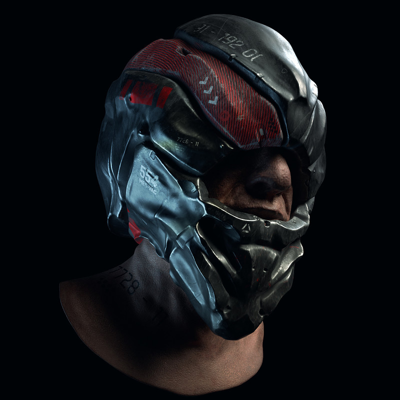 Helmet - Speed Sculpt and Texture - 2-3hrs