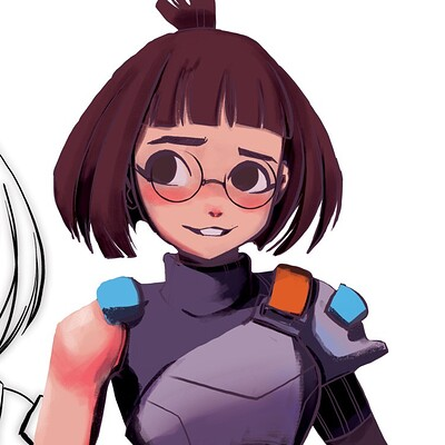 Mia Park Character Design