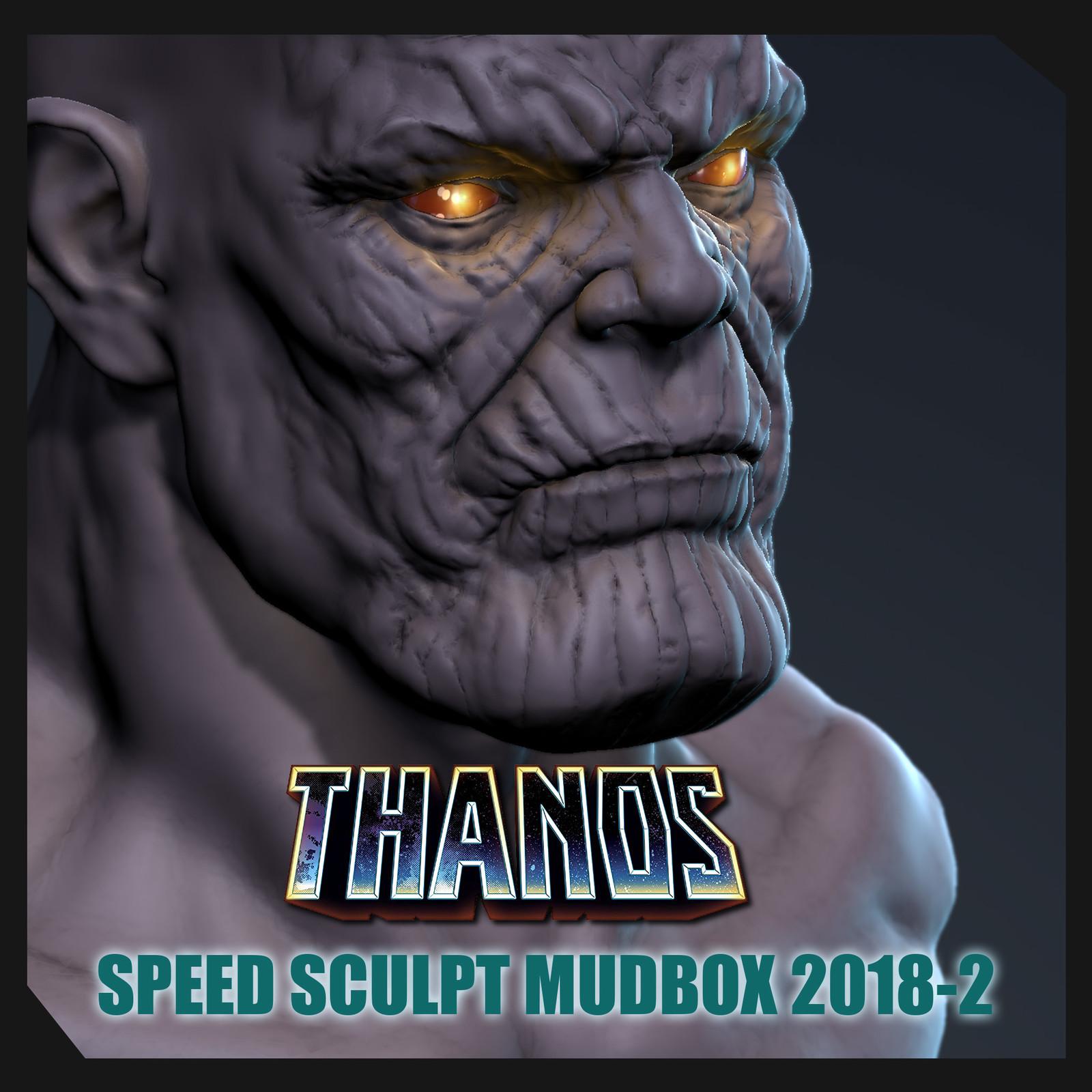 Thanos Speed Sculpt Dynamic Tessellation Mudbox 2018.2