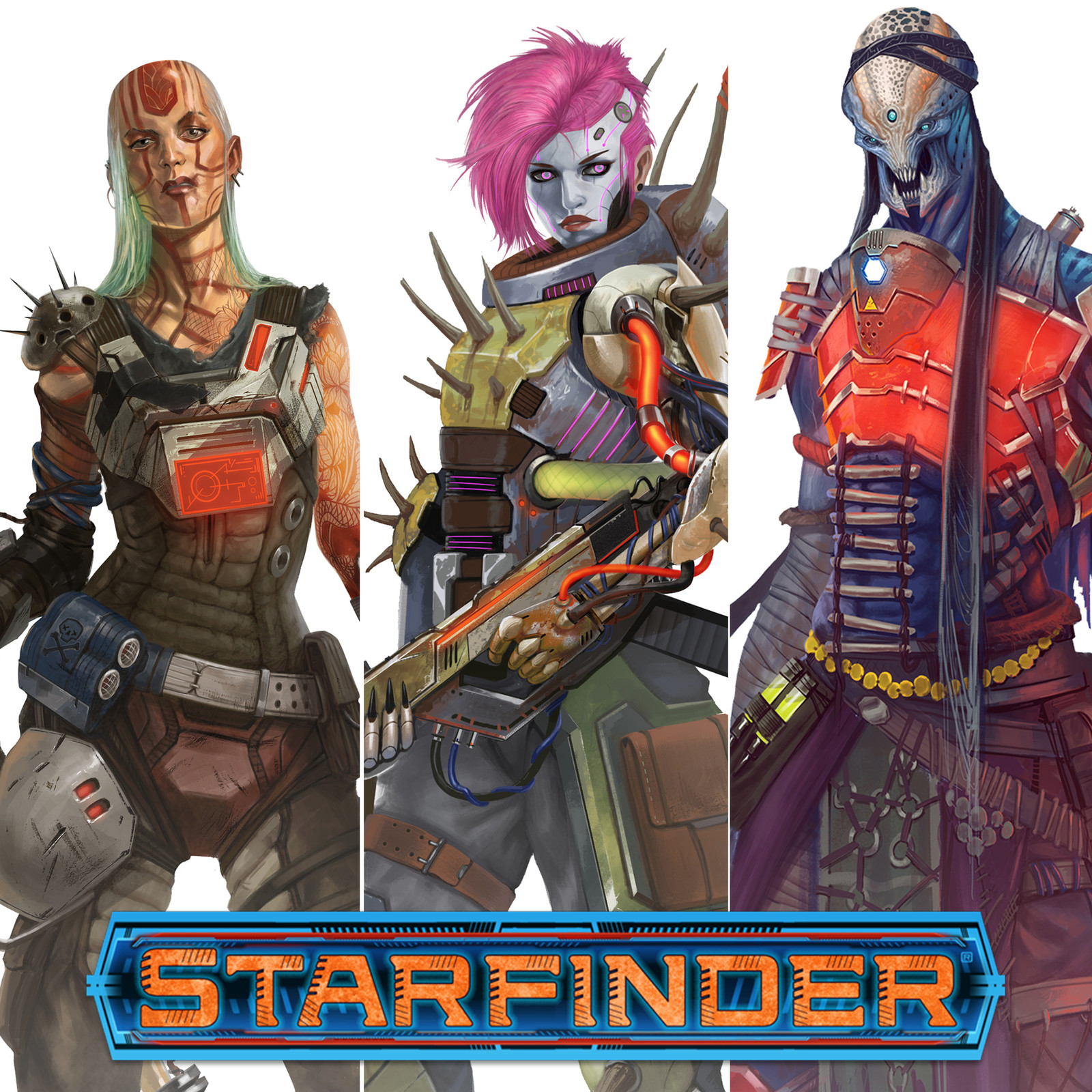 Starfinder - Characters cover