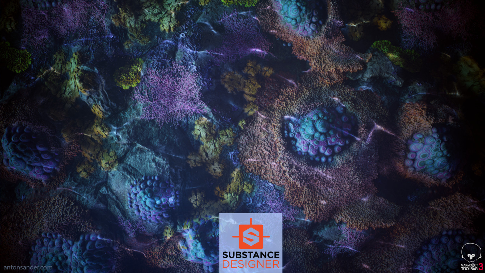 Coral Reef Substance