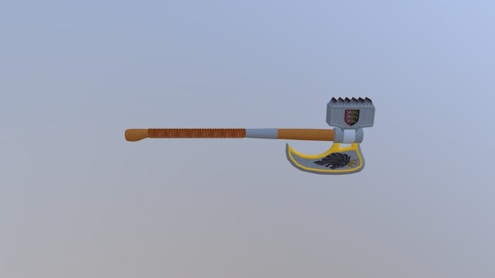 Hammer and Battle Axe