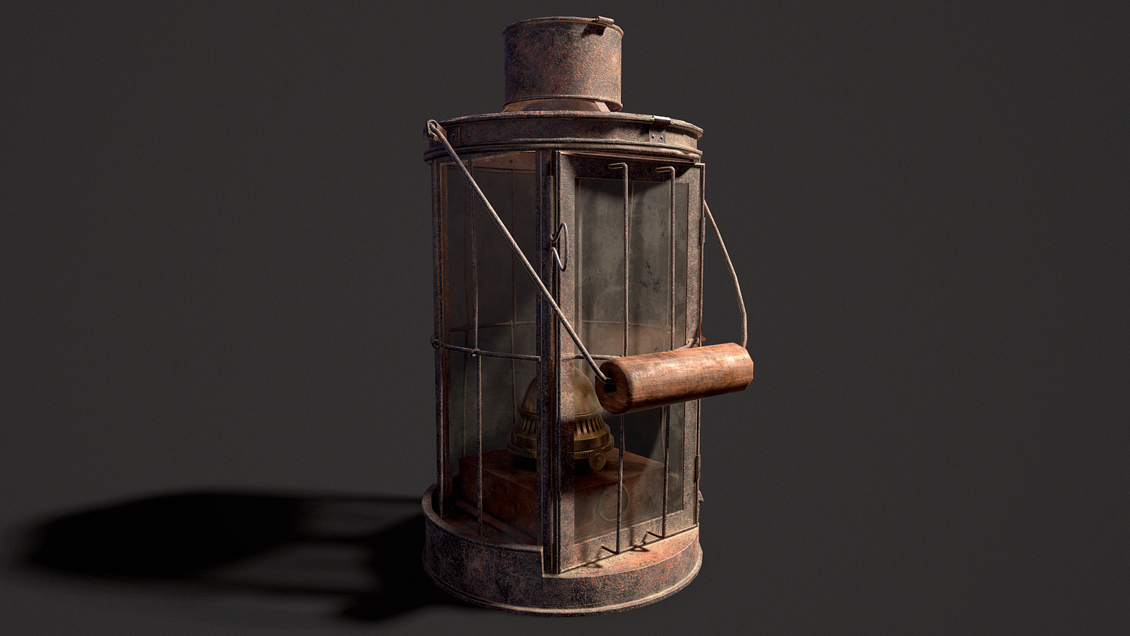WW I Trench Oil Lantern