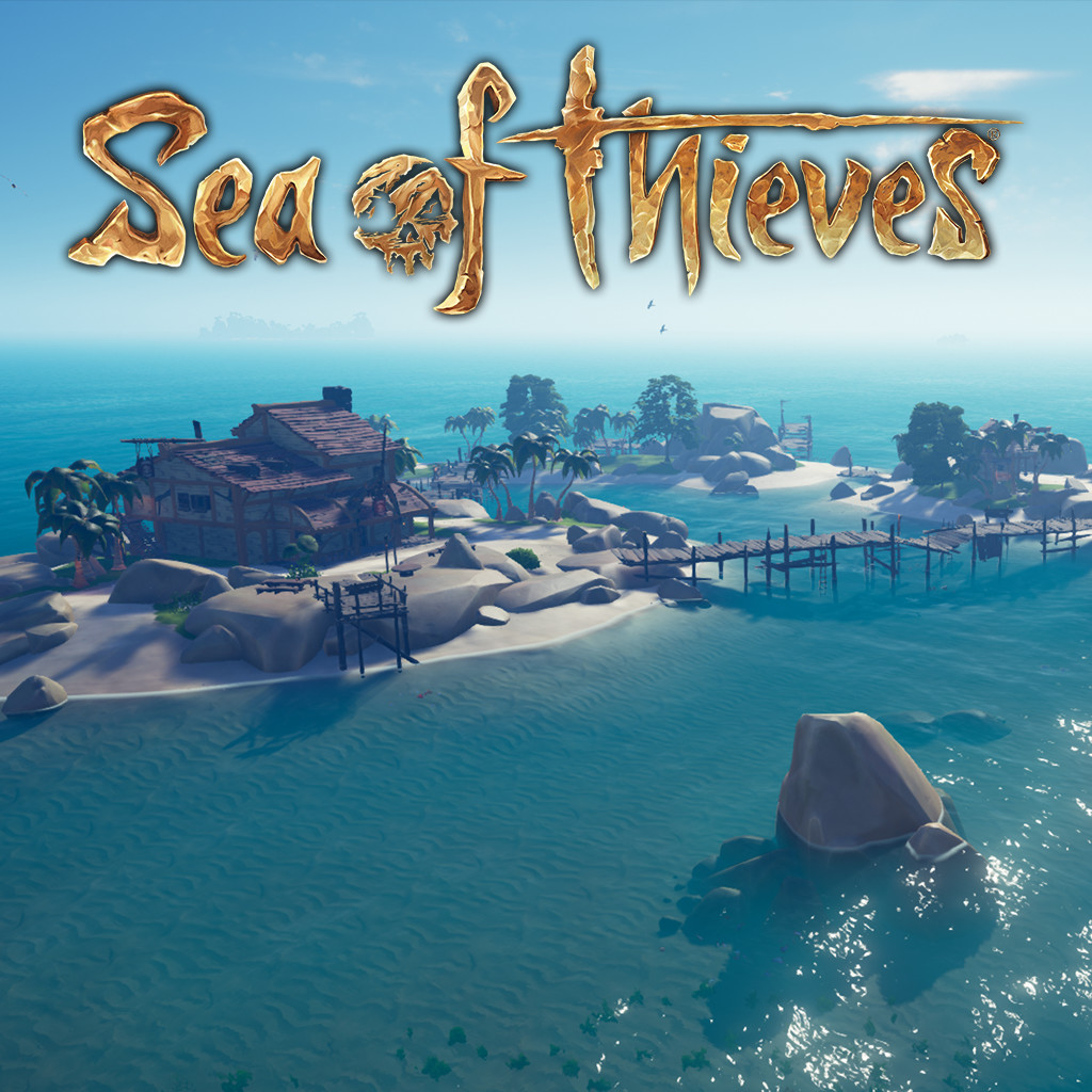 Sea of Thieves- Golden Sands Outpost