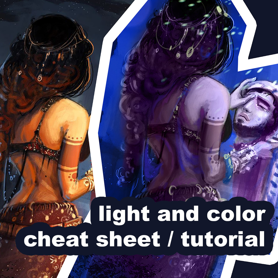 Light and color cheat sheet/tutorial