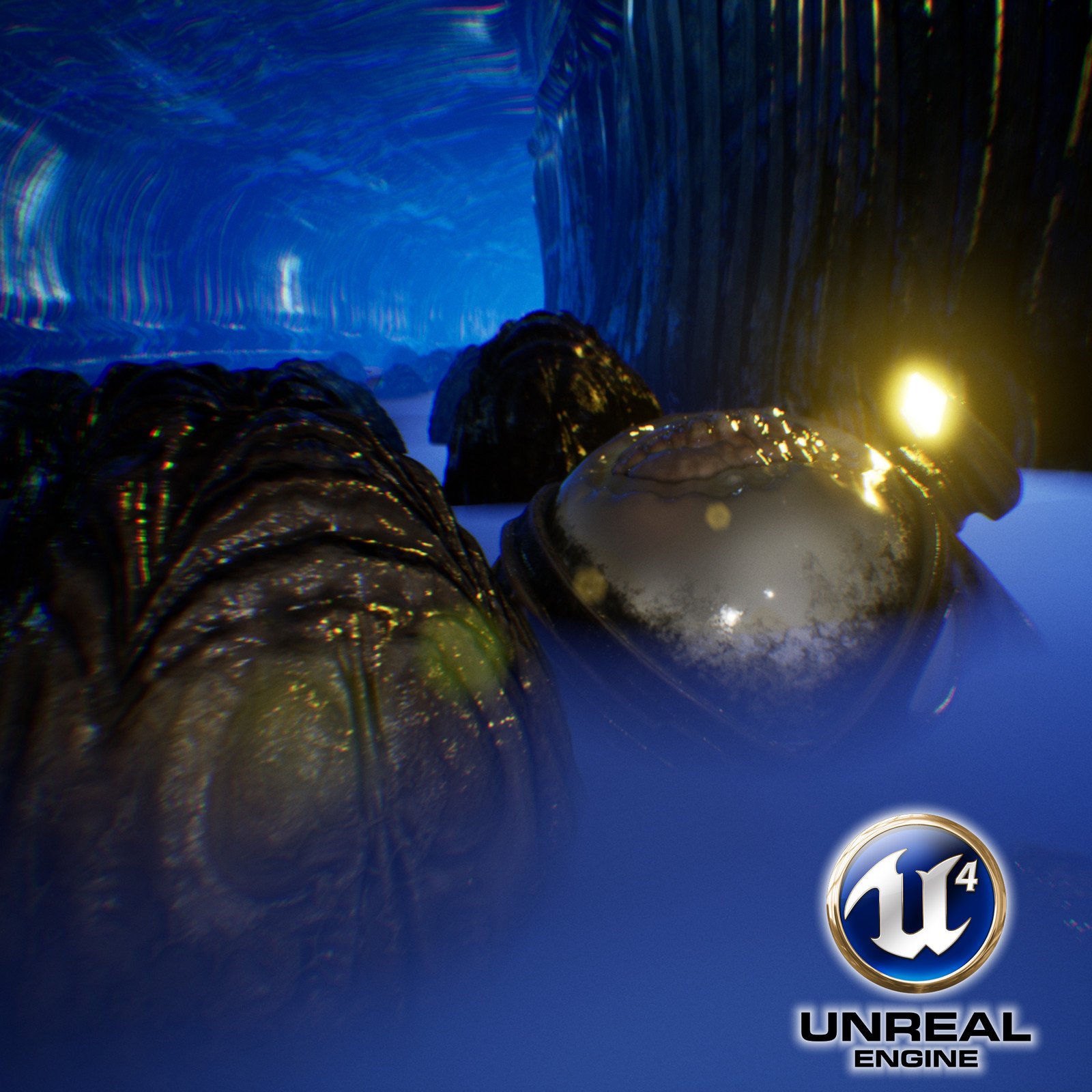 Alien™ Derelict Spaceship Corridors - Unreal Engine Scene
