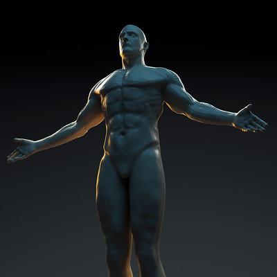 Anatomy study Dr. Manhattan