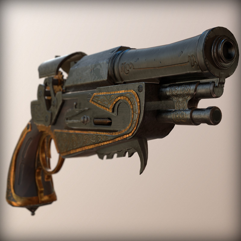 Art Challenge Pistol
