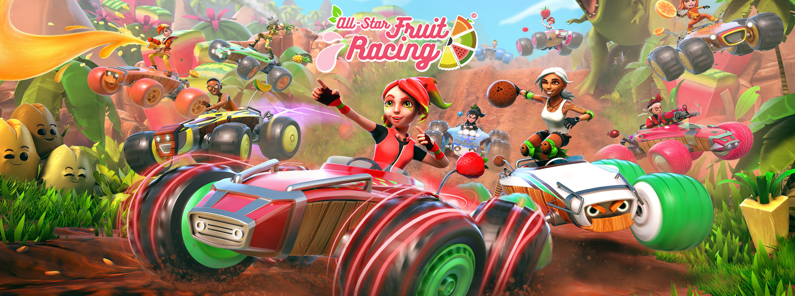 All-Star Fruit Racing Keyart