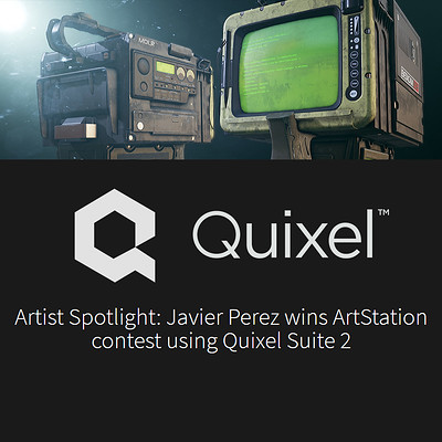 Artist Spotlight: Javier Perez wins ArtStation contest using Quixel Suite 2