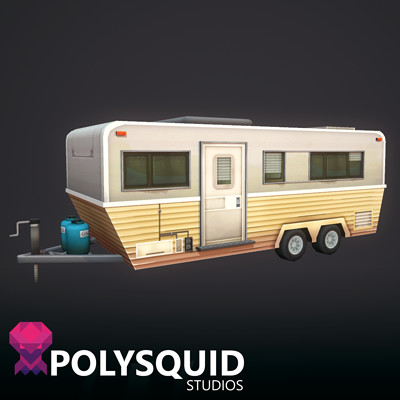 Poly squid trailer