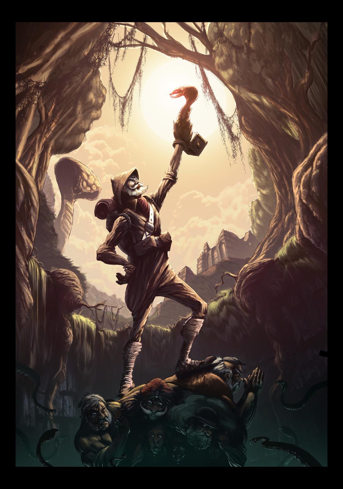 Illustration - Chessignton World of Adventure - Wild Asia.