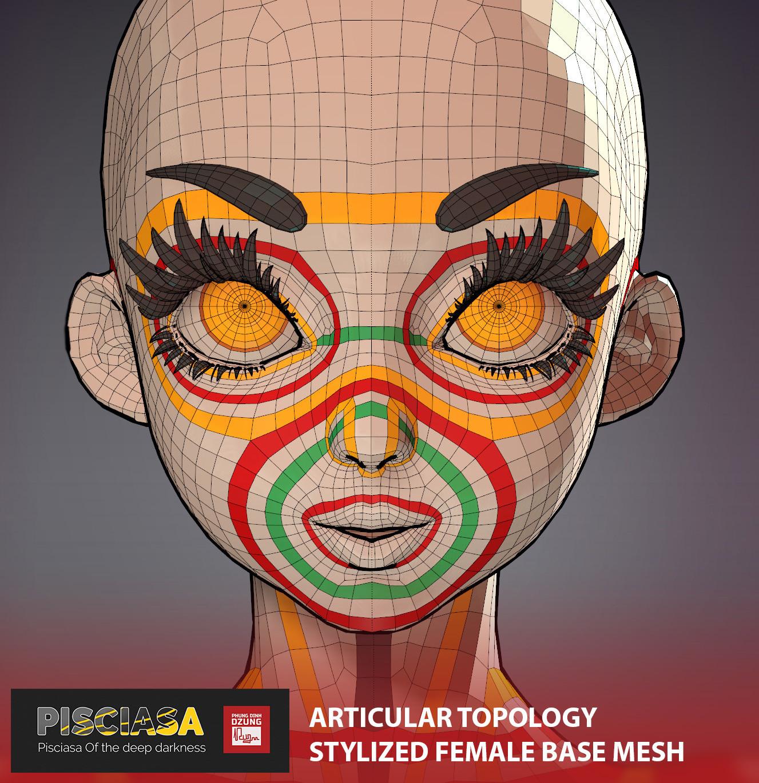 Pisciasa - Base mesh