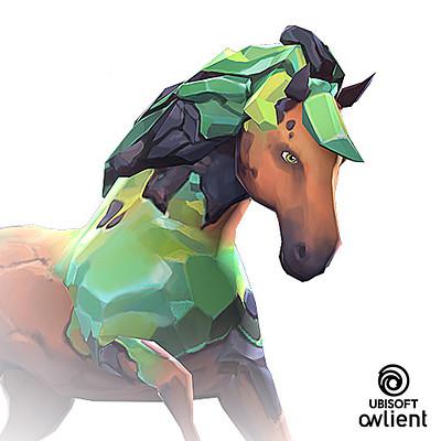 Koni amandine girard amandine girard koni horseadventure horse concept avatar