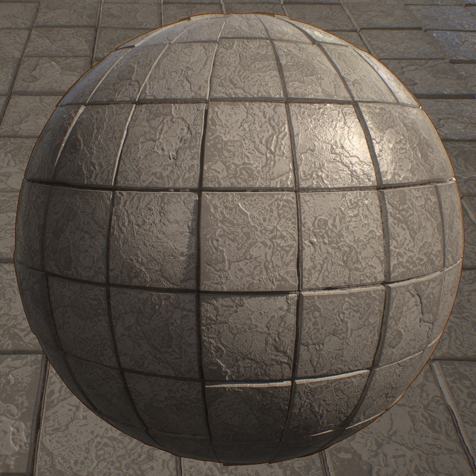 Concrete Tiles - Substance Designer