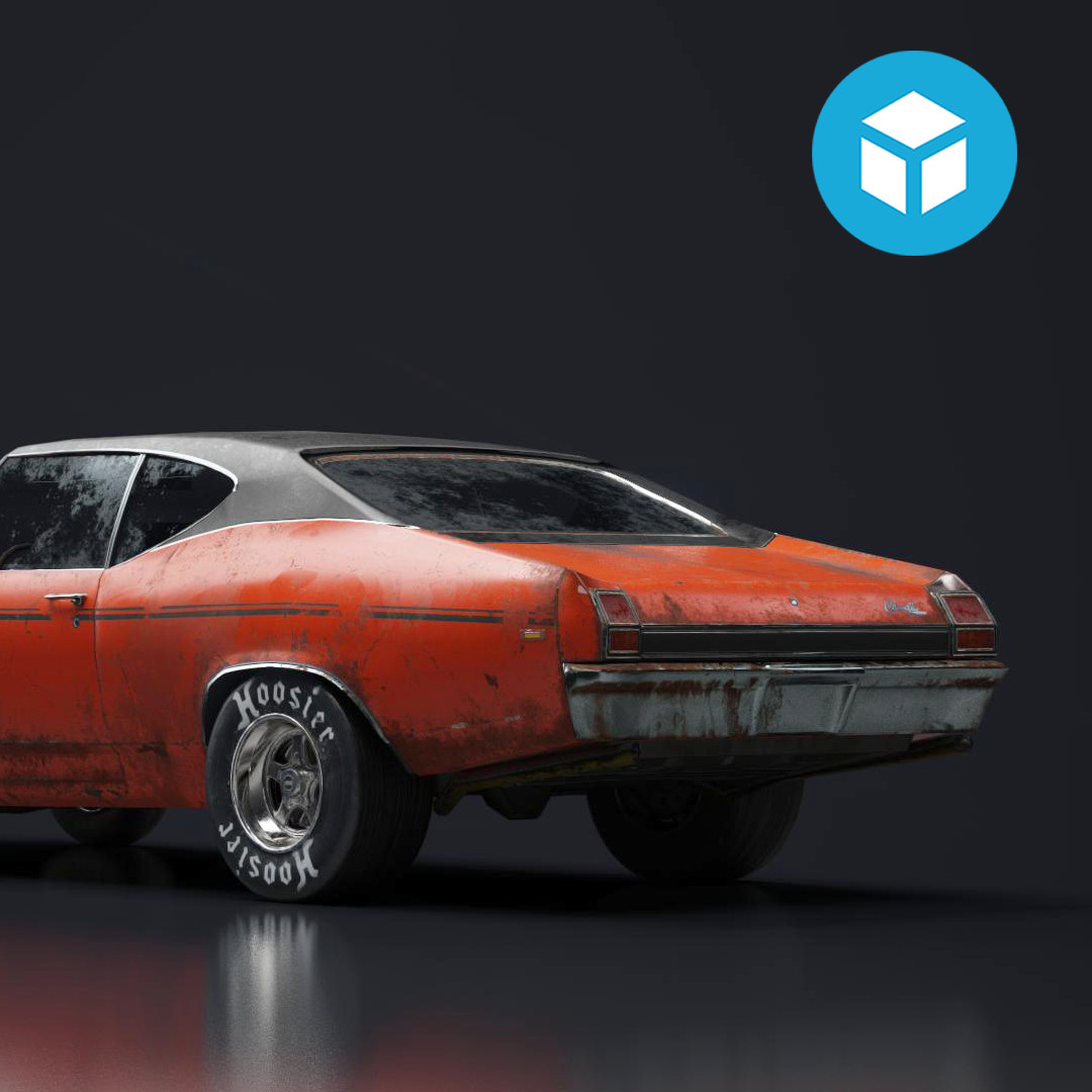 1968 Chevrolet Chevelle: Substance Painter