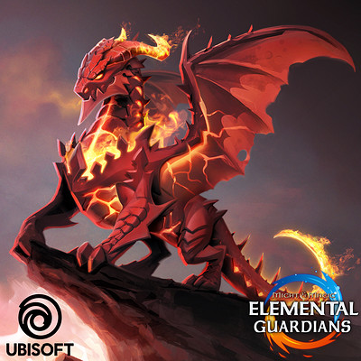 Koveck antonio garcia dragon artstation cover